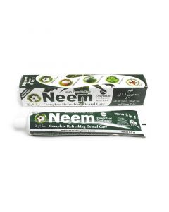 Neem Essential Toothpaste - Pure, Refreshing, Flouride-Free - Rich in Naturally Effective Botanicals, with Black Seed  - 6.5oz