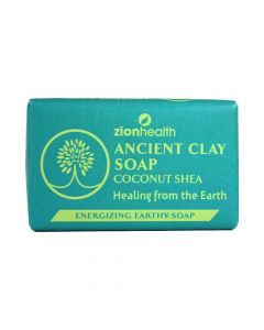 Coconut Shea Ancient Clay Soap - 6 oz. - African Soaps