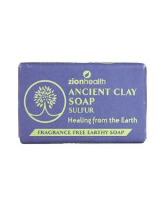 Sulfur Ancient Clay Soap - 6 oz. - African Soaps