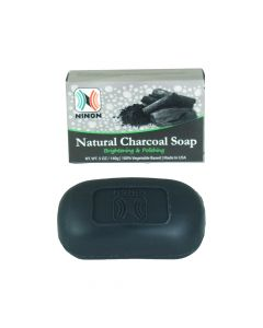 Natural Charcoal Soap - 5 oz. - African Soaps