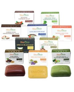 Set Of 10 Shea Olein Soaps - African Soaps