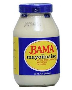 Bama Real Mayonnaise with a Dash of Lemon Au Citron De Limao - 32 Fl Oz