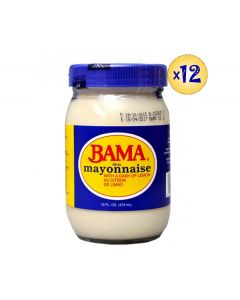 Bama Real Mayonnaise with a Dash of Lemon Au Citron De Limao - 16oz