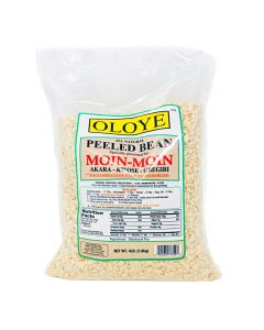 Oloye - All Natural Peeled Beans | For Moin-Moin, Beans Tamales (Koki, Akara, Kwose, Gbegiri) - 4lbs