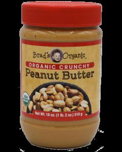 Brad's Organic - Brad Peanut Butter Crunchy - 18 oz