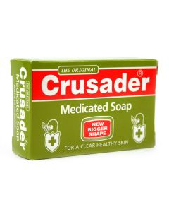 The Original Crusader Medicated Soap - For a Clear Healthy Skin - 2.8 oz - Pack of 6