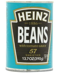 Heinz Beans in Tomato Sauce, 13.7-Ounce