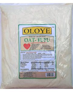 Oloye Whole Grain Oat Fufu - 2 lbs