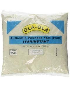 Ola Ola Authentic Pounded Yam Flour | Plant-Based, Grain-Free, Gluten-Free, Paleo (2Lbs)