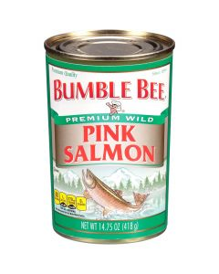 Bumble Bee Salmon Pink Canned, 14.75 oz