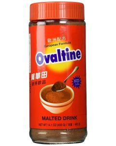 Ovaltine Chocolate  Malted Drink (European Formula) 14.1 Oz - 400g