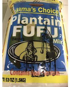 Mama's Choice plantain Fufu Flour | Plantain Flour - 3.8 lbs