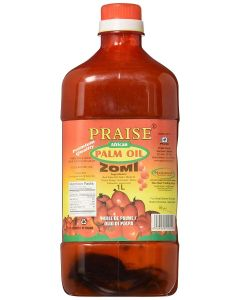 Praise African Red Palm Oil - Zomi, 1-Liter
