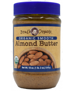 Brad's Organic - Brad Butter Almond - 18 oz