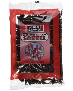 Angel Brand 100% Dried Natural Sorrel (Hibiscus Leaves) - 4.5oz
