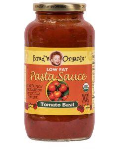Brad's Organic - Low Fat Pasta Sauce - Tomato Basil - 26oz