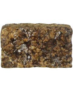 African Black Soap Raw Natural Organic Pure - 1lb - 16oz - Pack of 6