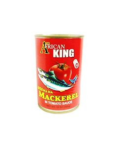African King Brand – Mackerel in Tomato Sauce – Omega-3-Rich - 15 oz