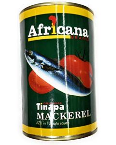 Africana – Tomato – Mackerel – Rich in Omegas & Protein - 15 oz