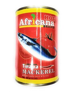 Africana Tomato Mackerel – Hot – 15 oz