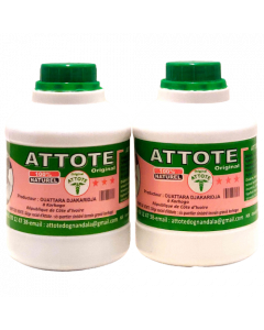 Attote Original - Men Power Bedroom, Boosts Male Sexual Potency & Performance, Natural Ingredients (Ivory Coast) - Pack of 2