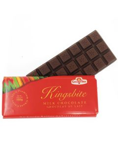 Kingsbite Milk Chocolate (Chocolat Au Lait) | Ghana Chocolate