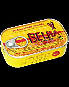 Belma - Sardines - Hot - 125g