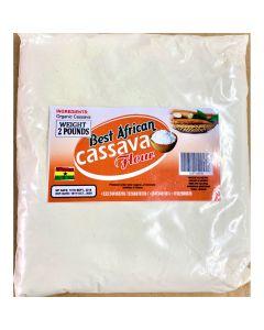 Best African - Cassava Flour - 2 lbs