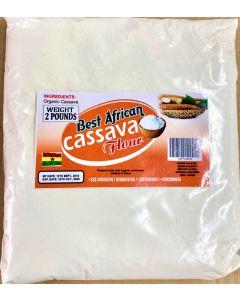 Best African – Cassava Flour – 2 lbs