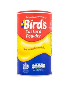 Bird's Custard Powder – The Original - Vanilla Flavoured Custard Powder - 600g