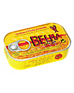 Belma Sardines – Spicy – 125g (Pack of 5)