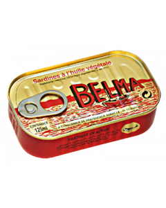 Belma Sardines – Vegetable Oil, Rich in Omega-3s - Full of Flavor - 125g  (Pack of 5)