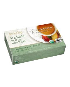 Davidson's Organics Tea, South African Rooibos, Good-For-You Tea, 100 Tea Bags