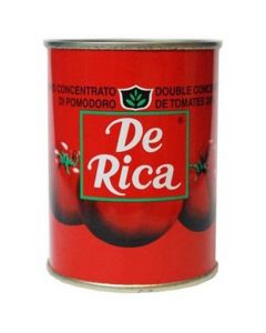De Rica - Tomato - Natural Highly Concentrated Tomato Paste - 210g