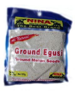 Ground Egusi ( Ground Melon seeds) - 8oz