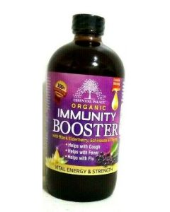 Essential Palace Organic Immunity Booster with Black Elderberry, Echinacea & Thyme - 16oz