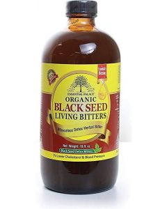 Essential Palace Organic Black Seed Living Bitters - 16oz