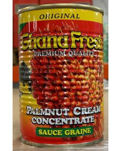 GhanaFresh Palmnut Cream Concentrate - Convenient Creamy Palm Nut Soup Base - Concentrated Palm Nut Fruit - 400g