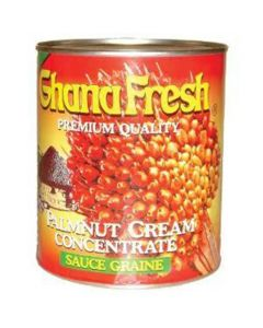 GhanaFresh Palmnut Cream Concentrate - Convenient Creamy Palm Nut Soup Base, Concentrated Palm Nut Fruit - 800g