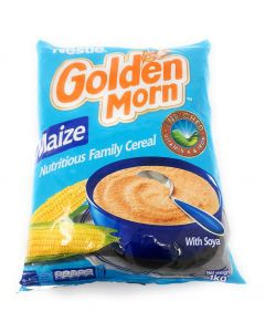Nestle Golden Morn Instant Cereal (Maize) -  Corn Cereal - Fortified with Vitamin A and Iron - 1 kg
