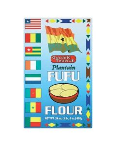 Golden Tropics - Plantain Fufu Flour - 24 oz