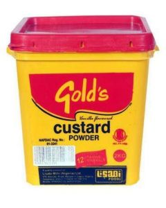 Gold's Custard Powder - 2kg