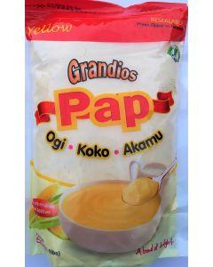Grandios Fresh Pap - Yellow | Ogi | Akamu | Koko - 500g