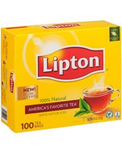 Lipton Tea - 1 box (100 packets each)