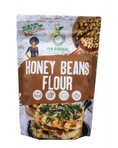 Iya Foods Honey Bean Flour All-Natural Gluten-Free, Vegan, Ewa-Oloyin 1 lb