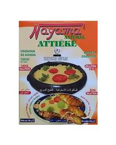 Nayama Attieke - Cassava Couscous - Pack of 4