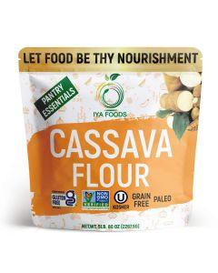 Iya Foods Cassava Flour All Natural Gluten-free, Non-GMO African Cassava (Yuca) Flour, 5lb