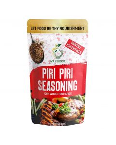 Iya Foods Piri Piri Seasoning 100% Whole Food Spice for Flavorful Grilling, Marinade, Peri-Peri African Seasoning, Blend of Herbs & Spices, 2 oz