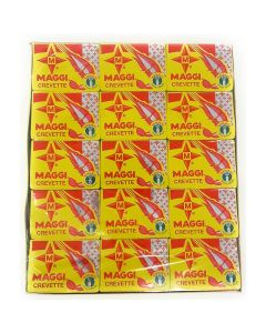 Maggi Crevette | Shrimp Bouillon - 60 Tablets (Crayfish)