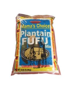 Mama's Choice plantain Fufu Flour | Plantain Flour - 10lbs